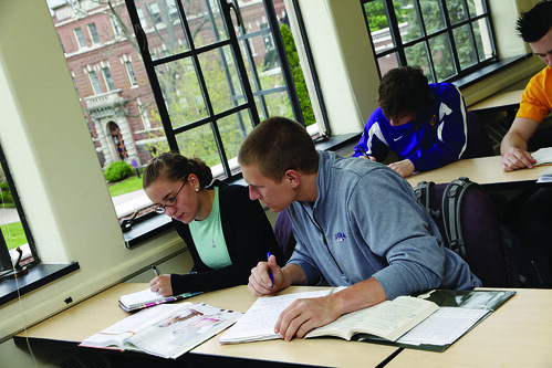 classroom work | by Elmira College