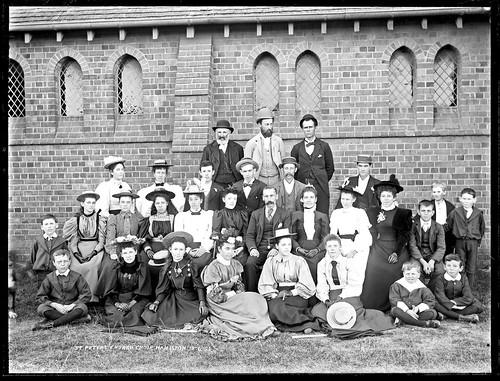 Church Choir, St Peter's Church, Hamilton, NSW, 18 April 1 ...