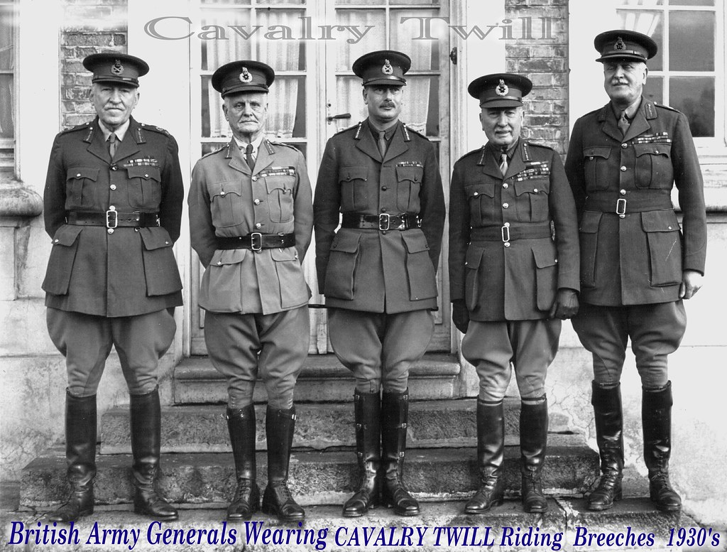 1930's British Army Generals Uniforms In Wear 1 | by The General Was Here !