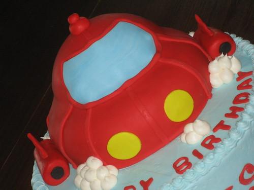 Little Einstein Red Rocket Cake