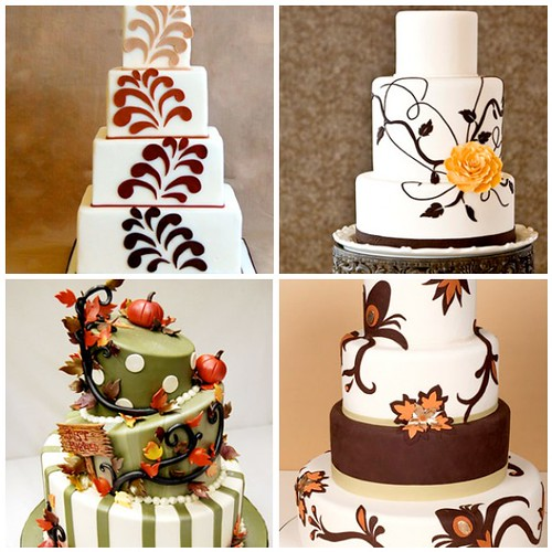 Fall wedding cake ideas check out resources for fall for Fall cake ideas