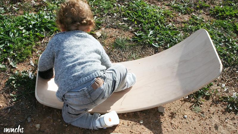 tabla de madera curva
