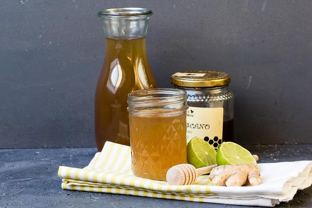 Ingwer Honig Tee via lunchforone