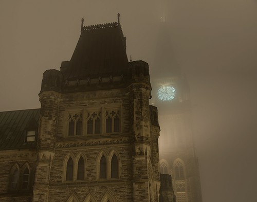 Fog Series: House of Commons and Peace Tower | by Geekstalt