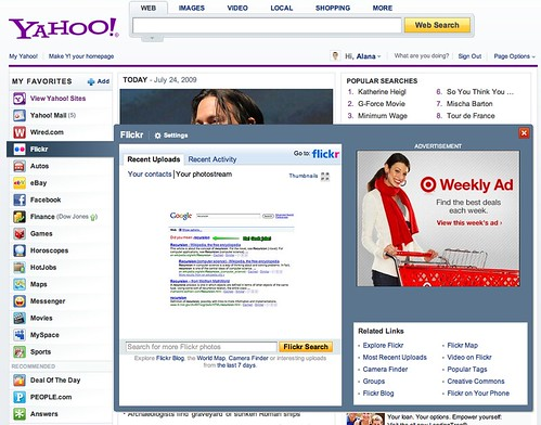 The New Yahoo! Homepage | by bokardo