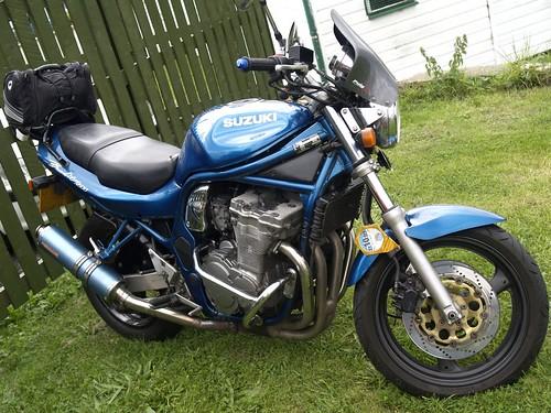 suzuki bandit n600 motorbikes suzuki bandit n600 motorbike flickr. Black Bedroom Furniture Sets. Home Design Ideas
