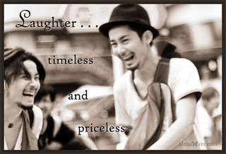 Laughter... timeless and priceless | by Almazing!