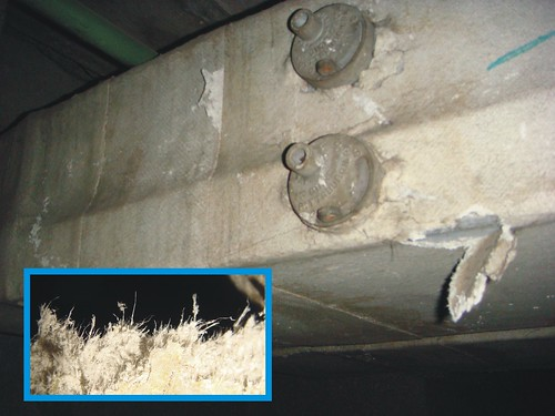 Asbestos Paper Duct Insulation u0026 Detail : Metal duct with viu2026 : Flickr
