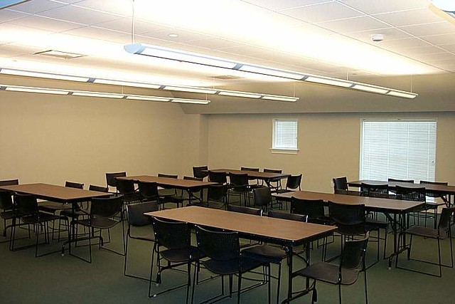 Classroom Lighting Design : First presbyterian church school classroom corelite