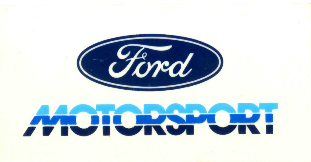 Top Logo Design Lightning The Tri Color Ford Motorsport David