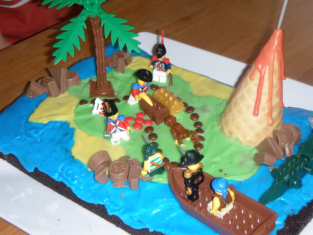 Treasure Box Cake Ideas