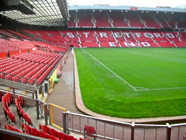 stadion von manchester united