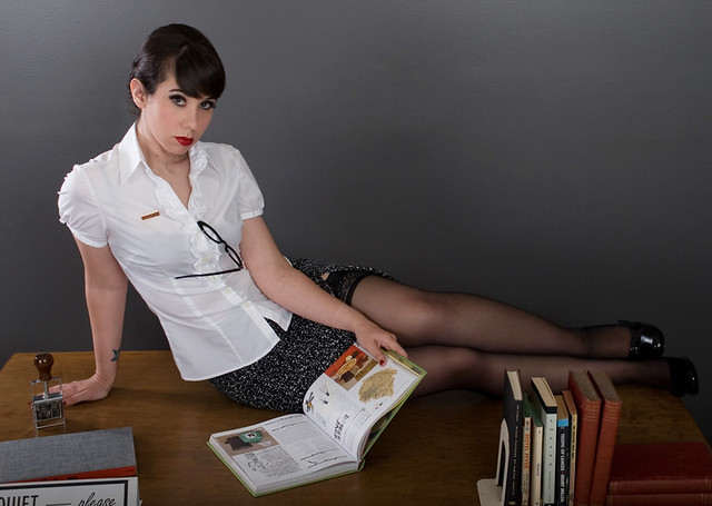 Pin-Up Librarian  Model Shushie The Pin Up Librarian -6647