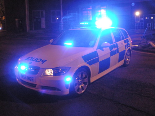 West Midlands Police BMW 3 Series Tourer RPU conducting road closure (TP - Unit 41) | by ModellerRob's ESV Photos (One)
