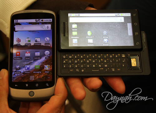 Nexus One vs Droid | by Daynah.net
