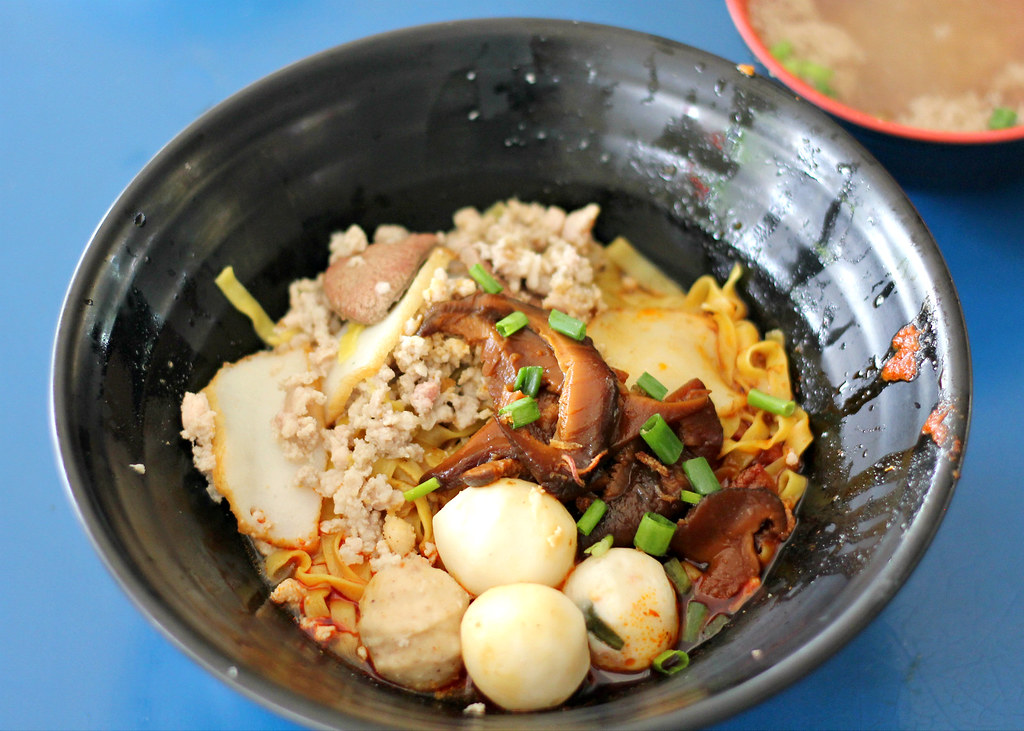 Fa Ji Minced Meat Fishball Noodle
