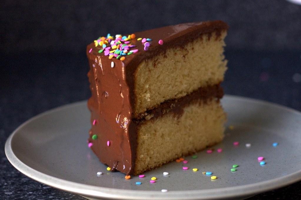 Mine Best Birthday Cake On Smittenkitchen Deb Flickr