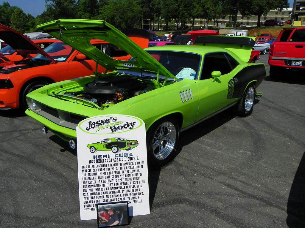 MOPAR Car Show Branson MO Plymouth Barrac Flickr - Car show branson mo