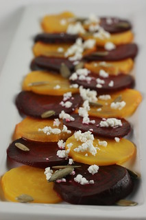 Red & Golden Beet Salad with Goat Cheese (Food Librarian) | by Food Librarian