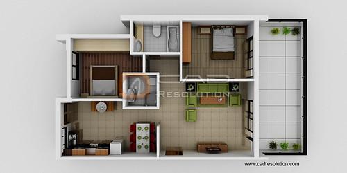 Floorplan 3d Design Rendering Floor Plan Floorplan 3d