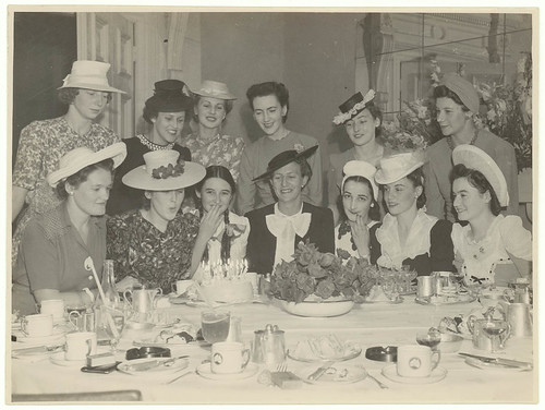 Birthday party c. 1930s / Sam Hood | by State Library of New South Wales collection