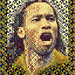 Didier Drogba: Côte d'Ivoire 2010 (Second mosaic illustration)