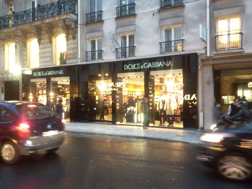 rue du faubourg honor 233 dolce gabbana boutique flickr