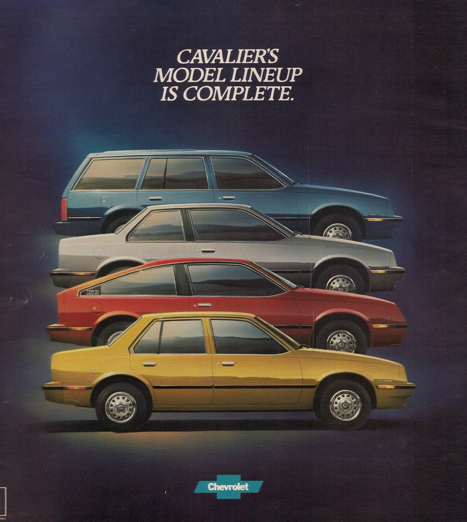 Cavalier 1982 chevrolet cavalier : Chevrolet Cavalier 1982 | Back cover of the first catalog is… | Flickr