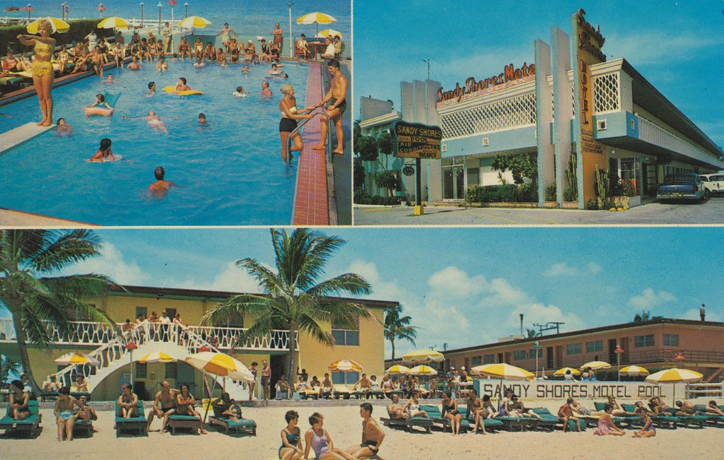 Sandy Shores Motel - Miami Beach, Florida