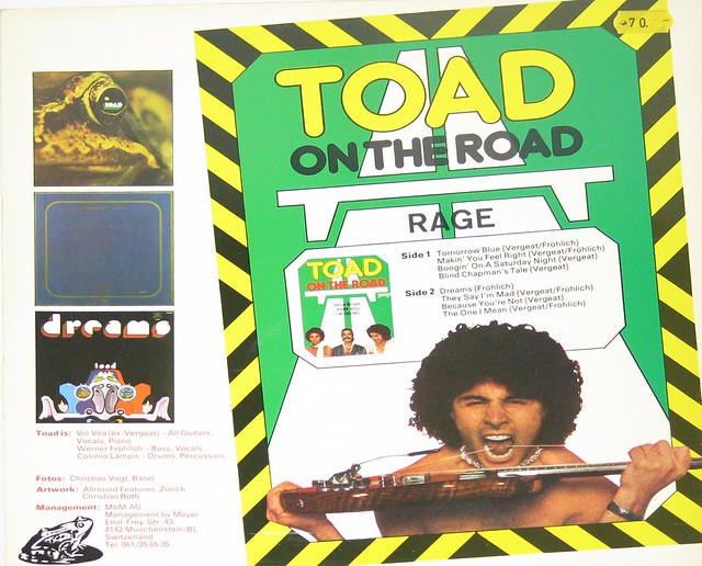 Toad Best of Toad Swiss Psych Prog Brainticket