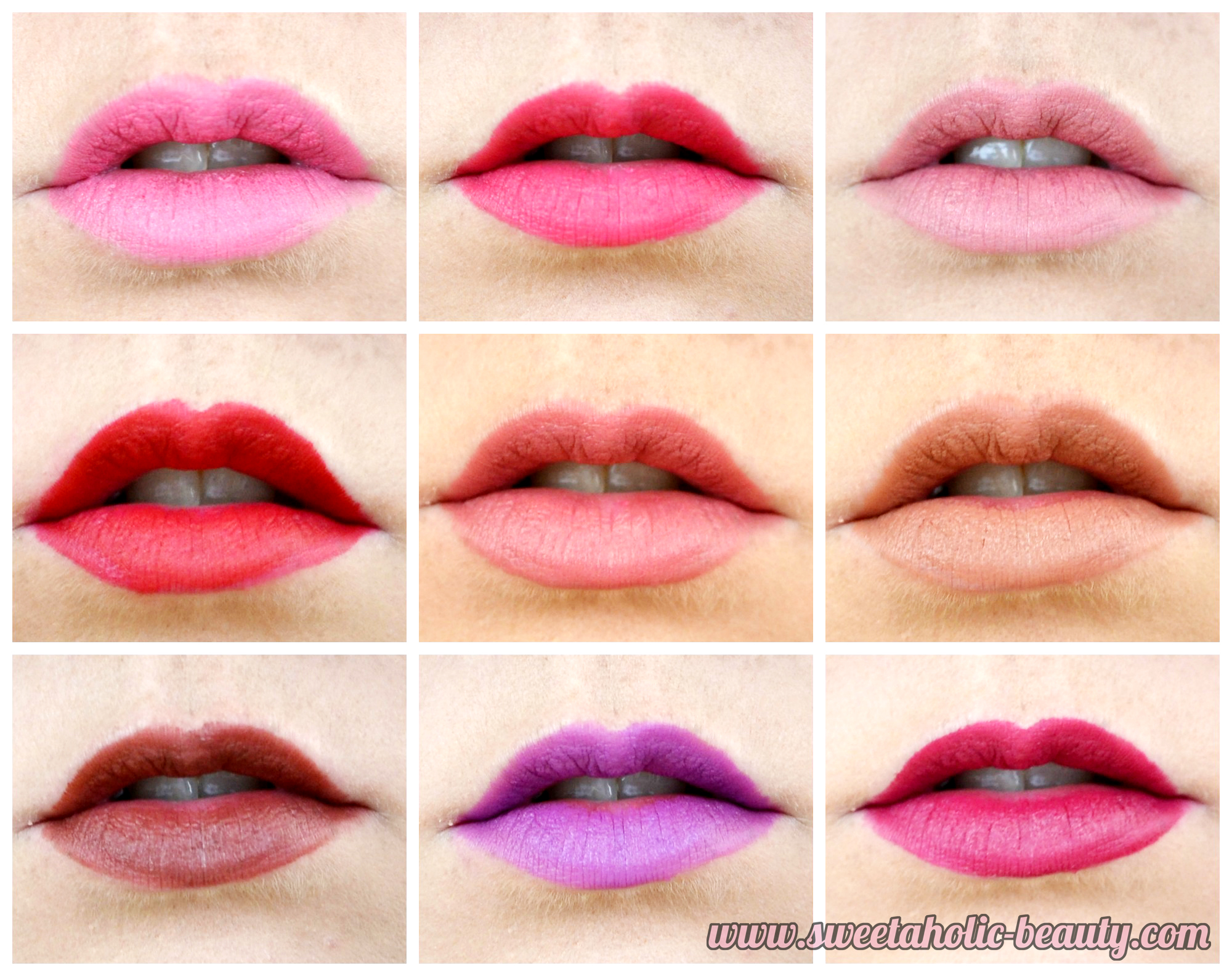 Rimmel London The Only 1 Matte Lipstick Collection Review & Swatches - Sweetaholic Beauty