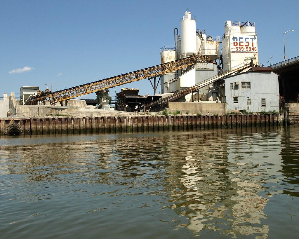New York Cement Plants : Best concrete mix plant flushing creek new york city