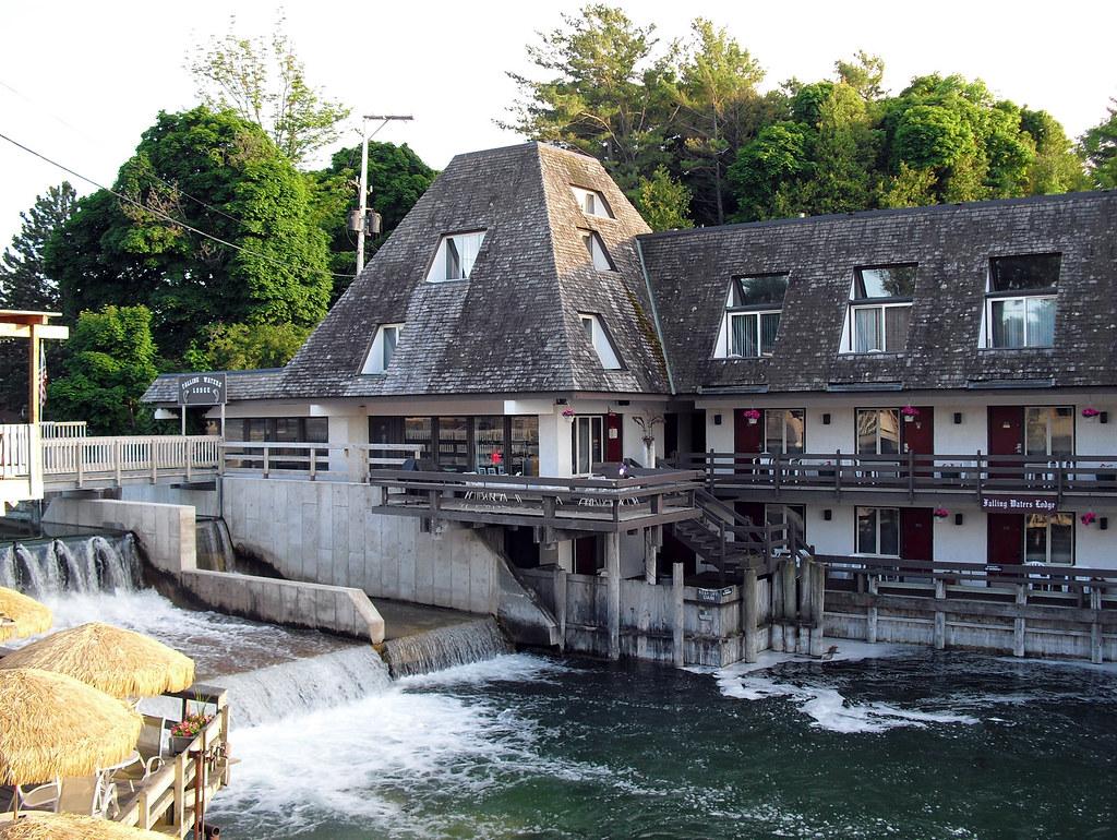 Falling Waters Lodge Fishtown | Leland, MI | Gary Elrod ...