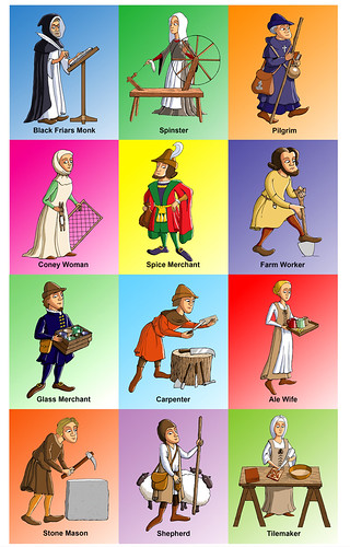 characters in the canterbury tales by chaucer Everything you ever wanted to know about the characters in the canterbury  tales:  characters the host chaucer (the narrator) the knight the squire   the yeoman the  the host is the major mover and shaker of the frame story  of the canterbury tales, since it's he who proposes the  chaucer (the narrator .