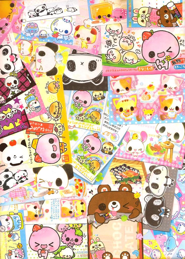 Kawaii Memo Paper Lot From Kamio Japan Q Lia Crux San X