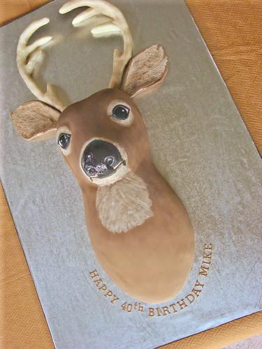 Deer Head Shaped Cake Pan