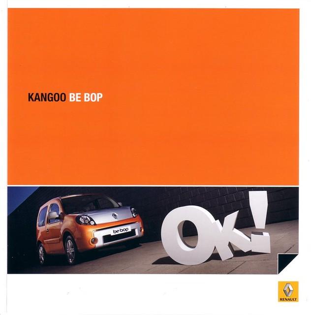 Renault Kangoo Be Bop 2009 Brochure France The Be Bop Is Flickr