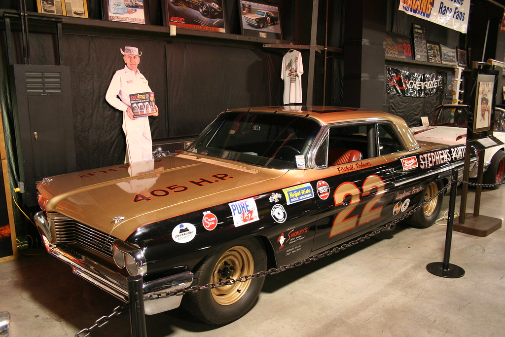 Floyd Garret Muscle Car Museum Fireball Roberts Pontiac