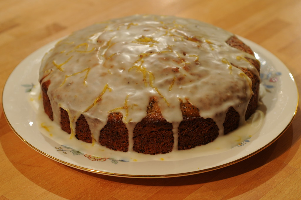 Lemon Drizzle Cake Chewy
