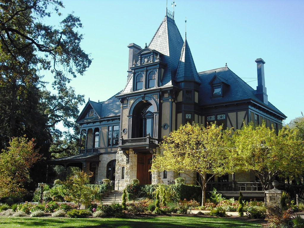 The Rhine House At Beringer Brothers Winery St Helena C