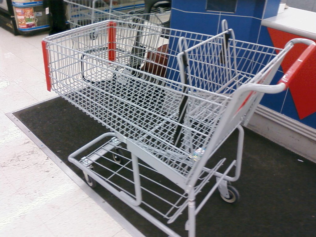 Kmart Collins Road Cedar Rapids Iowa Shopping Cart