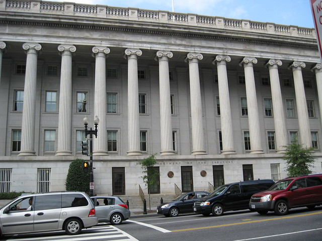 Department of treasury building washington dc flickr photo
