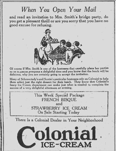 Colonial Ice Cream 1920s