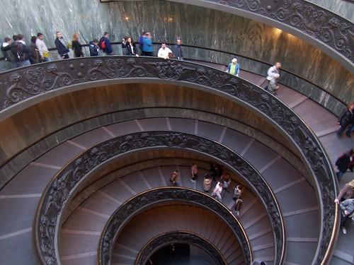 La escalera de caracol de los museos vaticanos la - La escalera de caracol ...