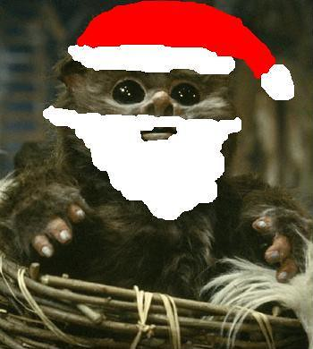 Christmas Ewok Avatar | My Christmas Avatar for CABG. | Flickr