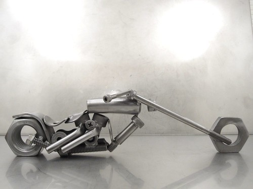 Nuts And Bolts Motorcycle Sculptures Www Browndogwelding