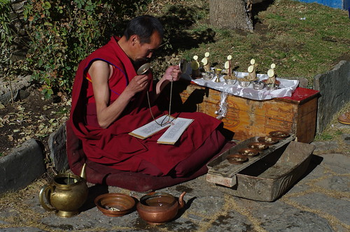 Monk at Mindoling Monastery, Lhoka, TAR | by treasuresthouhast