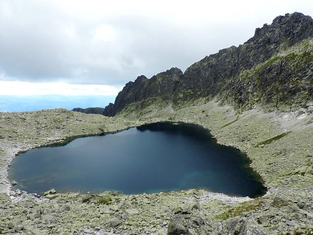 Alpine lakes: Vyšné Wahlenbergovo pleso, High Tatras, Slovakia