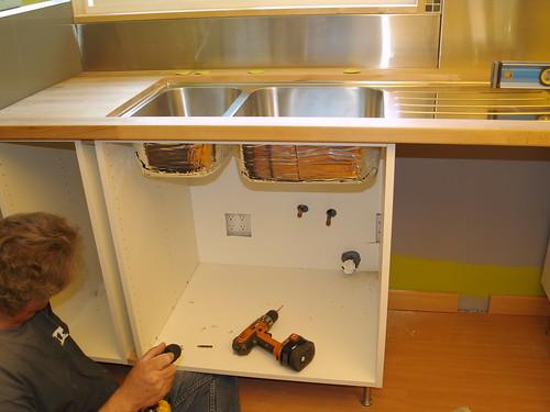 Undermount White Sink Kitchen Cast Iron Deerfield Home Depot Ku