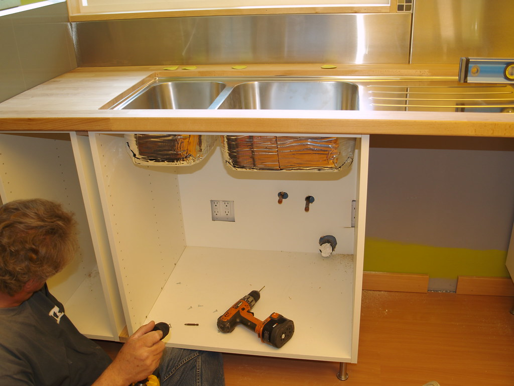 Kitchen Sink Base Cabinet Flat Pack